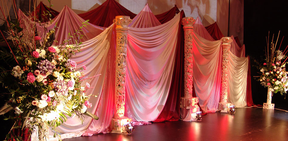 Indian wedding stages